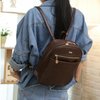 Casual Brown Backpack
