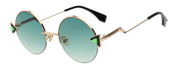 Ravena Forest Green Sunglass