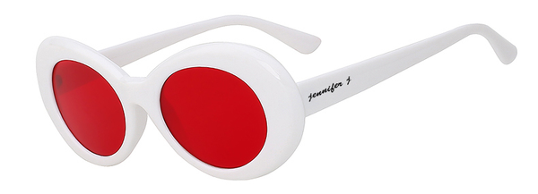 Anafahs Red White Sunglass
