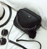 Small Chain Crossbody Black Handbag