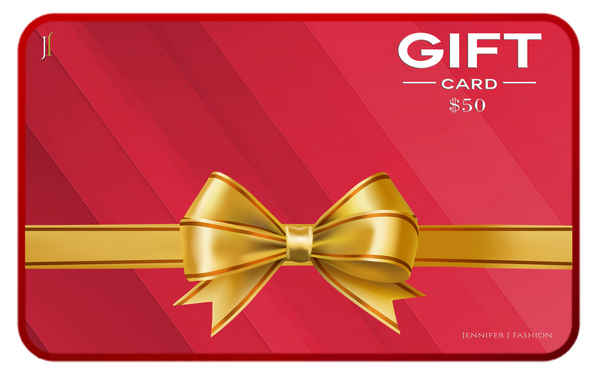 $50 Jennifer J Gift Card