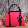 Bow Shoulder Pink Handbag