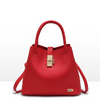 Casual Tote Red Handbag