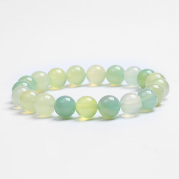 Bead Bracelet Natural Stone Green