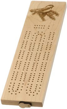 Engraved Cribbage Board