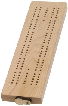 Maple Cribbage board