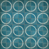 Vintage Vinyl Floor Cloths by Spicher - Pattern 46