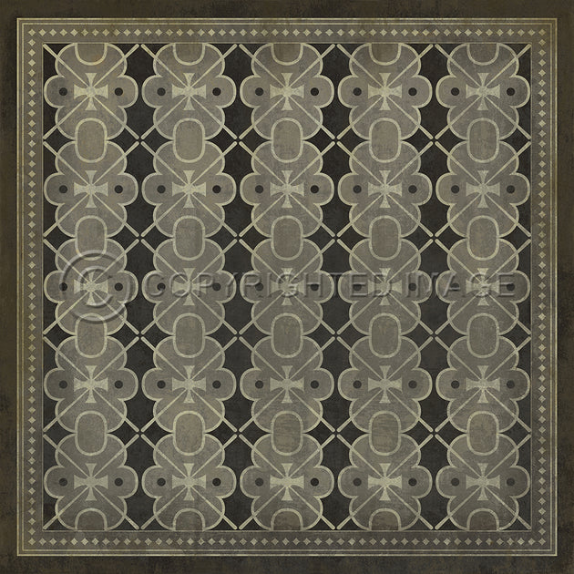 Vintage Vinyl Floor Cloths by Spicher - Pattern 05 (17 Designs - Colors)