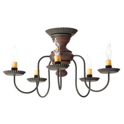 Irvin's Thorndale Ceiling Light in Hartford Colors