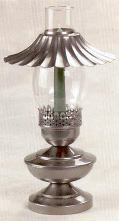 Candle/Electric Table Lamp