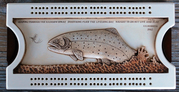 Bass Cribbage Board
