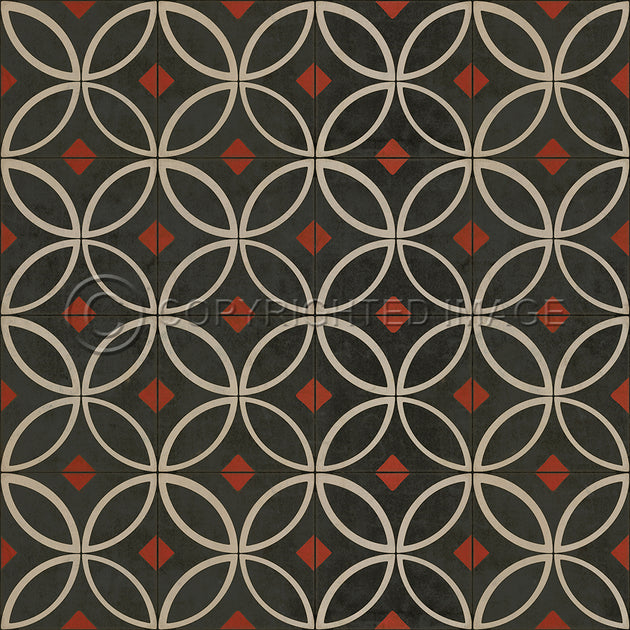 Vintage Vinyl Floor Cloths by Spicher - Pattern 70 (14 Designs- Colors)