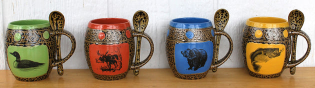 Wildlife Mug Set