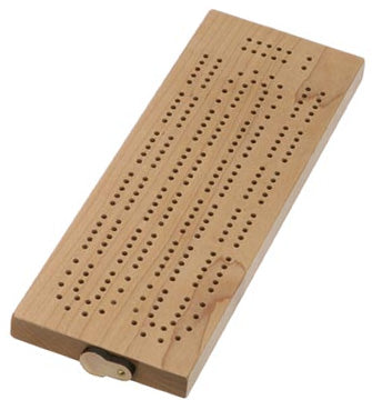 Continuous Cribbage Board