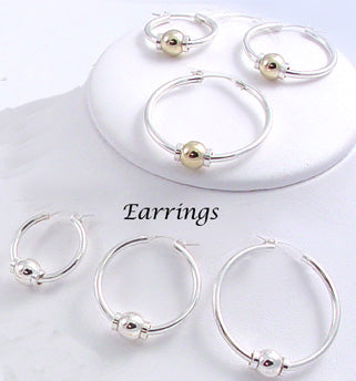 Hoop Earrings - Beach Collection