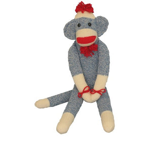 Original Sock Monkey - Blue