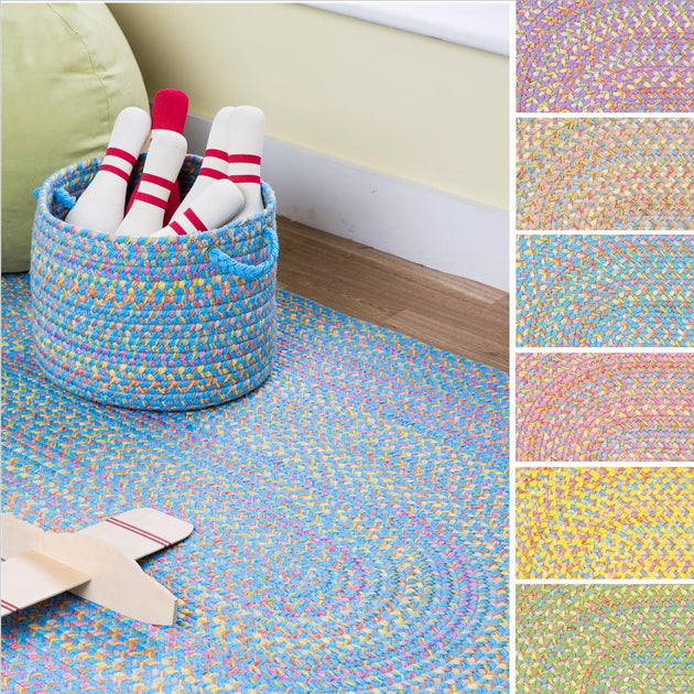 Rhody Braided Rugs Kid's Collection - Playtime