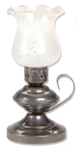 Small Table Lamp - Electric or Candle