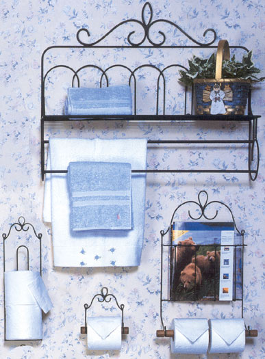 Wire Bathroom Accessories