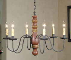 Irvin's Country Tinware Manassas Chandelier - Custom