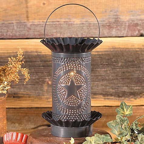 Irvin's Country Tinware Mini Tartwarmer - Regular Star