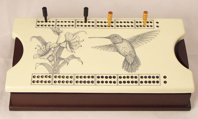 Hummingbird Cribbage Box