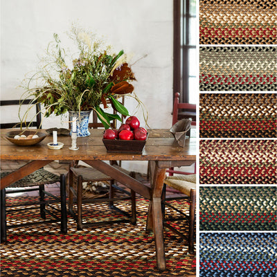 Rhody Braided Rugs Mayflower Collection