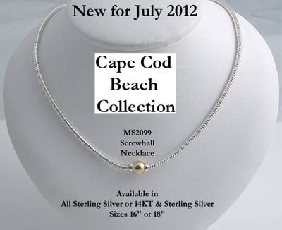 Beach Collection Screwball Necklace