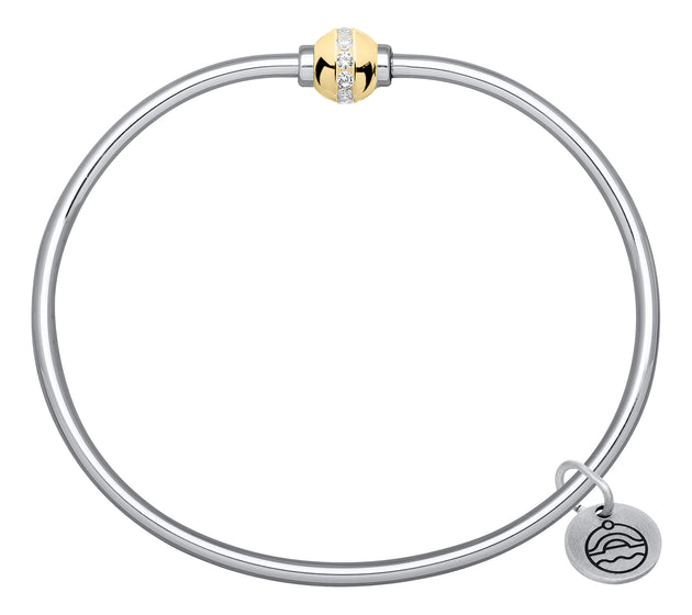 Lestage Cape Cod Diamond Ball Bracelet