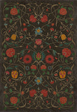 Vintage Vinyl Floor Cloths Williamsburg Collection - Floral - 4 choices