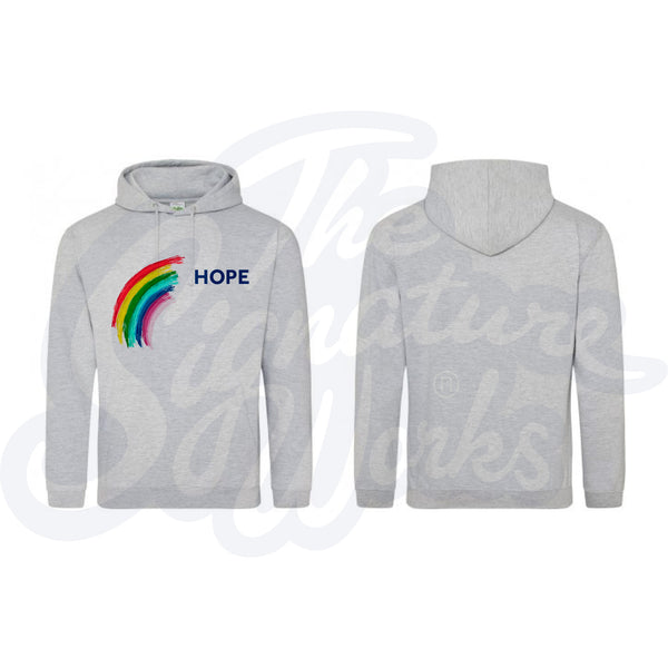 Adult Rainbow Hoodies - Hope