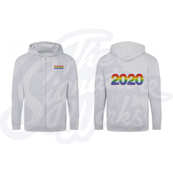 Adult Rainbow Zoodies - 2020