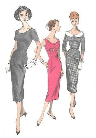 The women wearing 1950s Pencil Dress