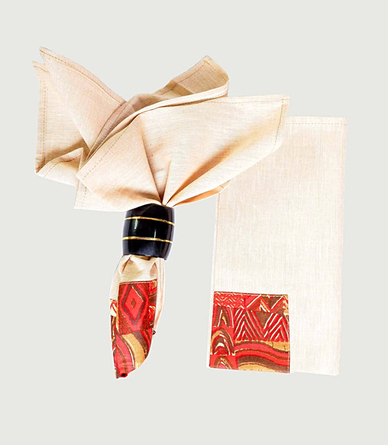 Buy African Wax Print Napkins