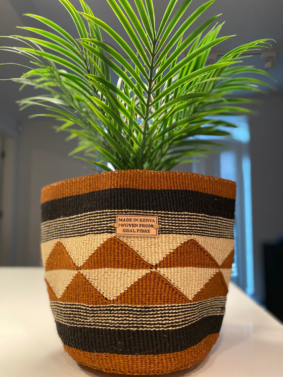 Planter Basket- Brown