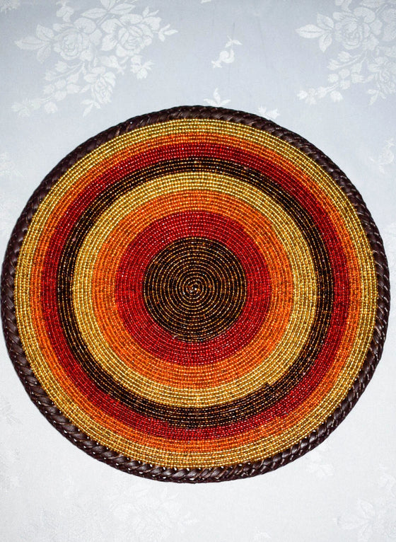 Buy Round Beaded Placemats Online