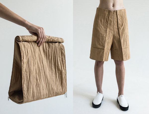 ECOPACK: DZHUS introducing a Spring/Summer 2021 collection.