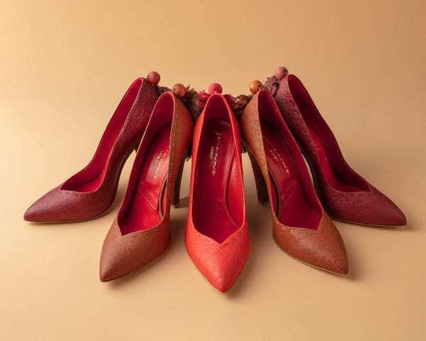 Mulberry, Cognac, and Paprika - The Mel Heels
