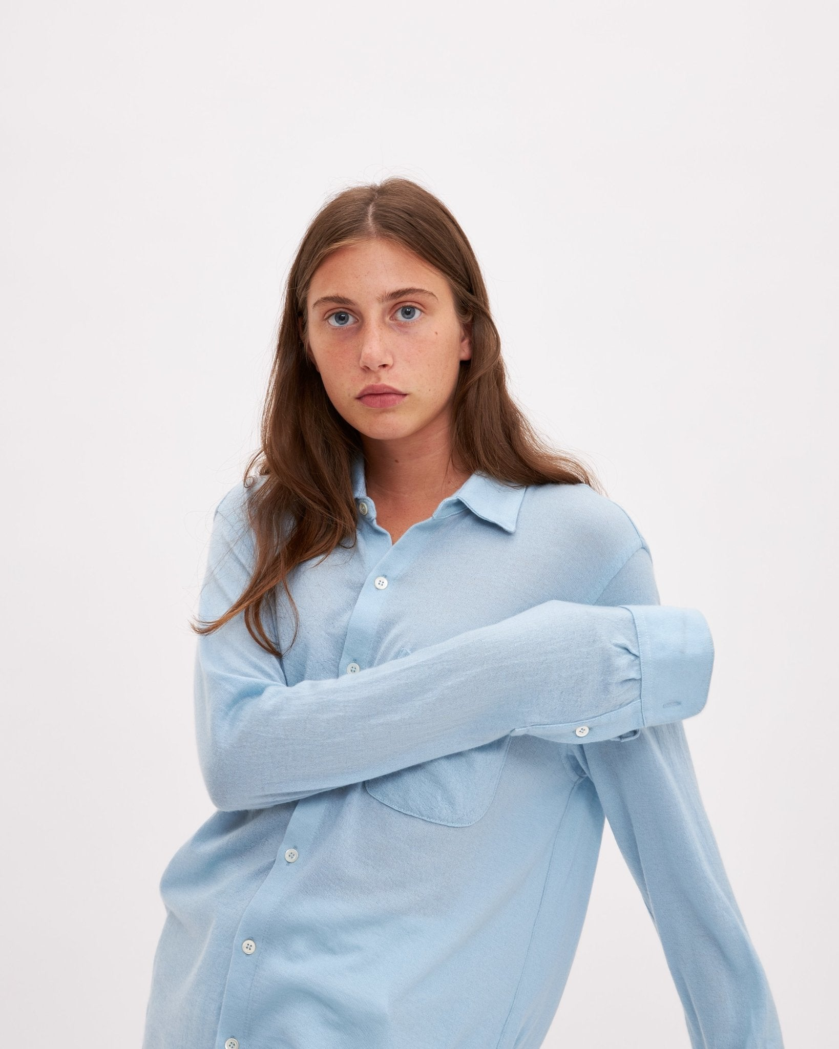 Bellariva Cashmere - Light Blue - The Clothing LoungeLungomare