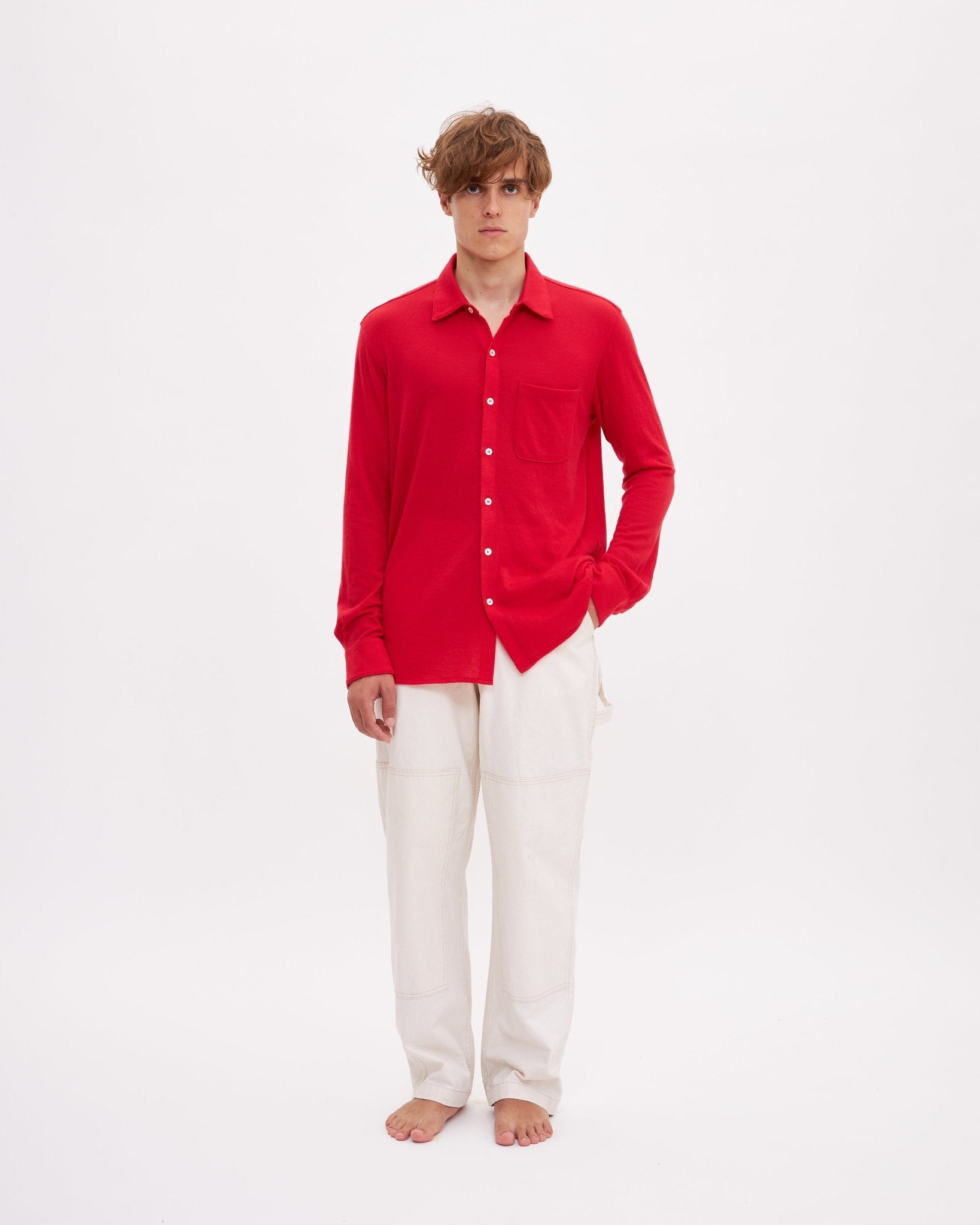 Bellariva Cashmere - Red - The Clothing LoungeLungomare