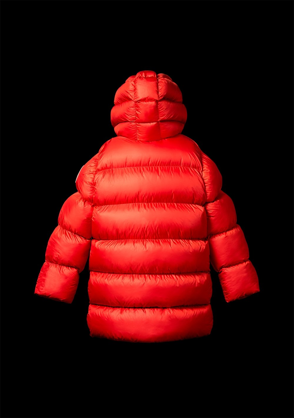 Bess Matt Red Puffer Jacket - The Clothing LoungeXUMU