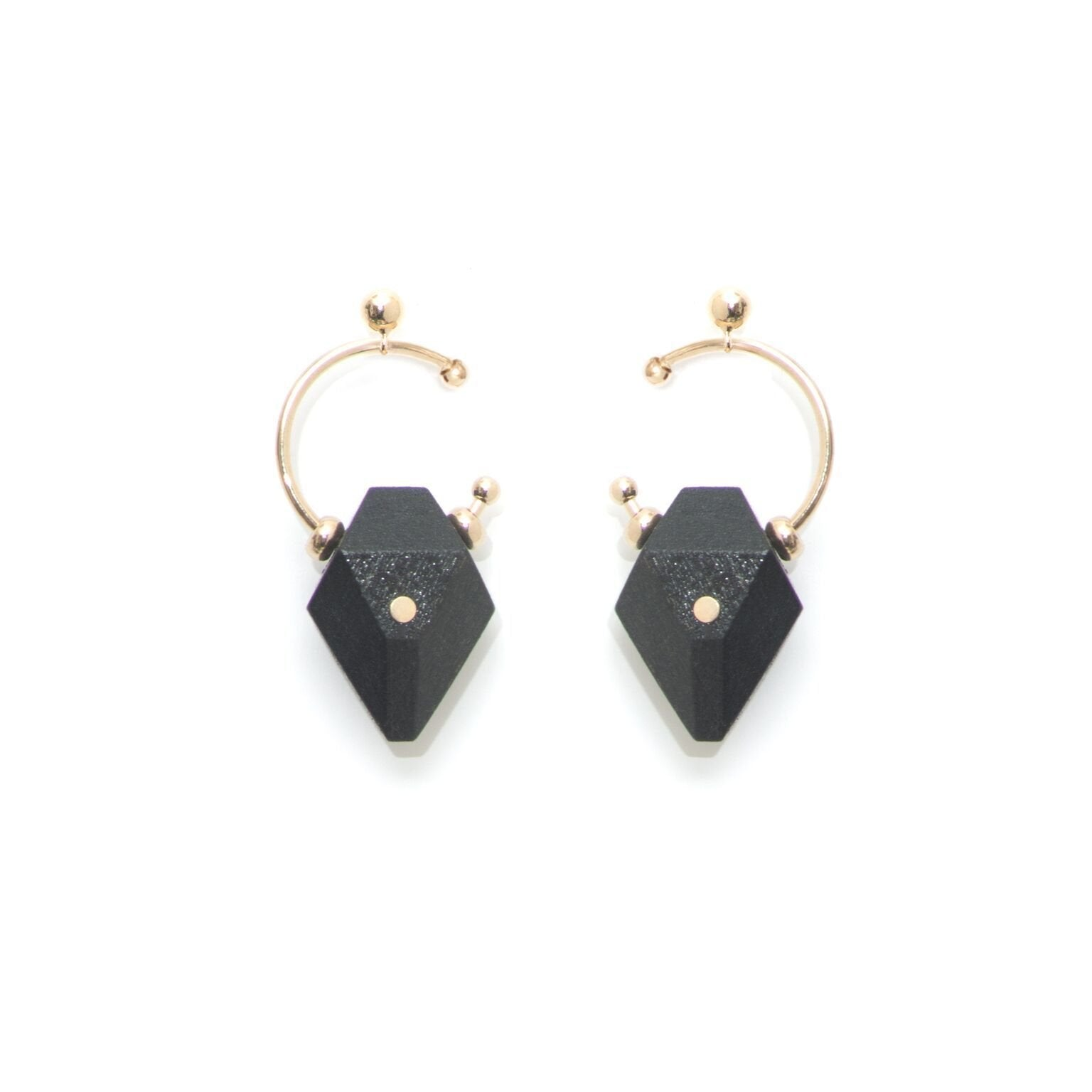 Canip Black Champagne Earrings - The Clothing LoungeSalomé Charly