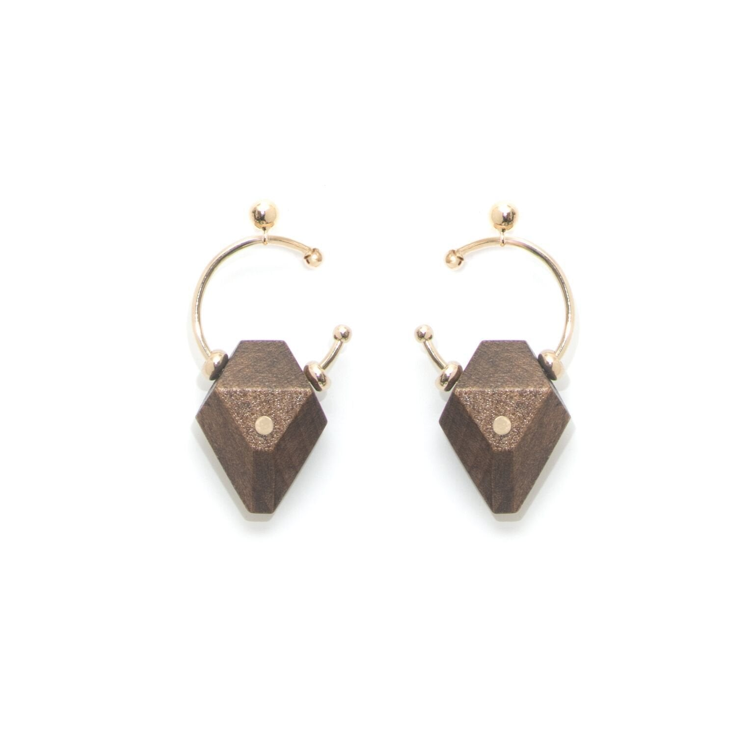 Canip Gray Champagne Earrings - The Clothing LoungeSalomé Charly