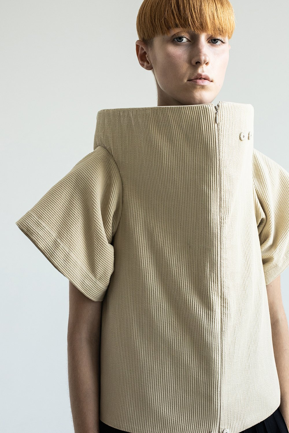 CARDBOARD 6-way Transforming Piece: Vest/Hoodie/Bag - The Clothing LoungeDZHUS
