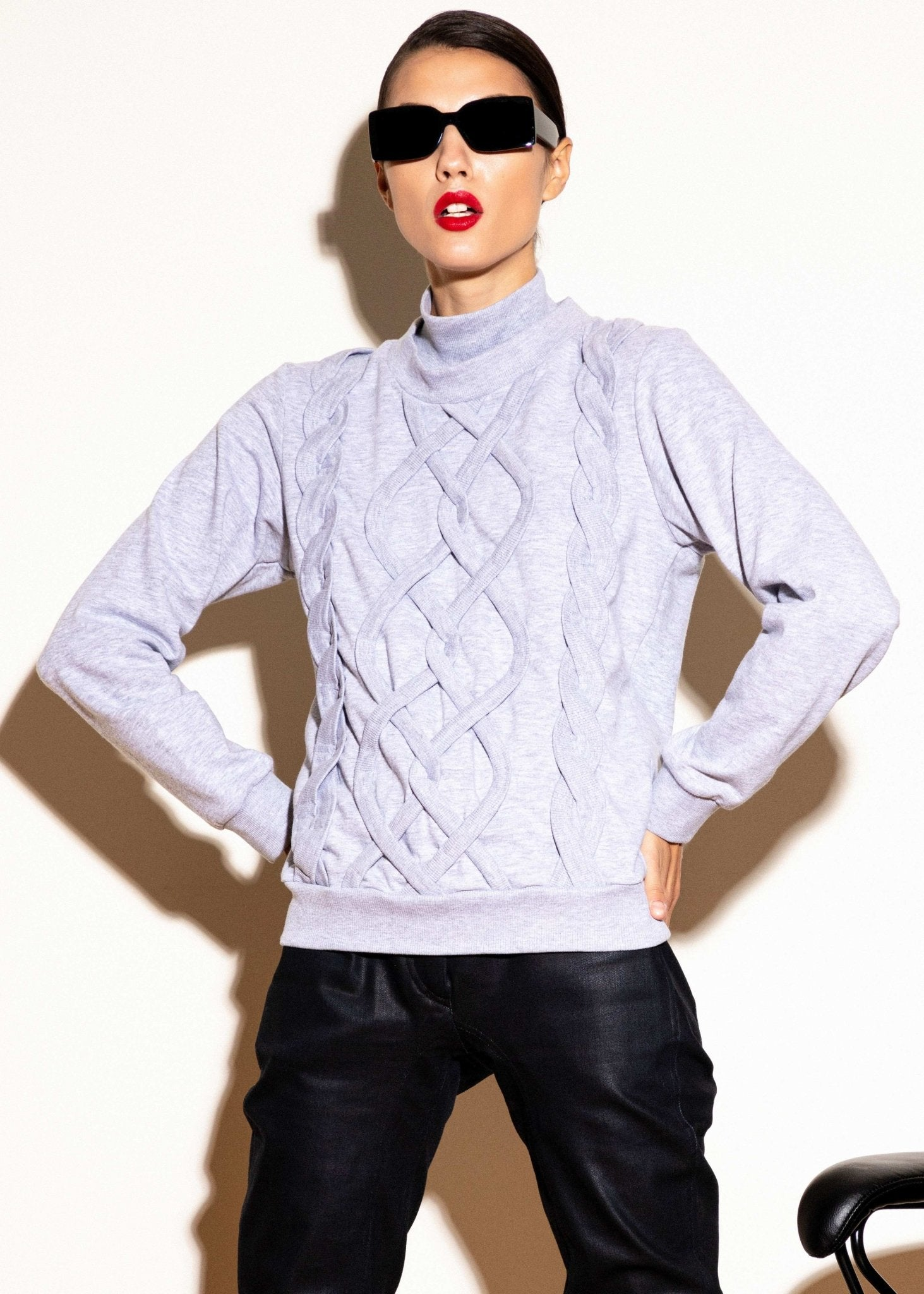 Fake Knitwear Sweatshirt - The Clothing LoungeTalented