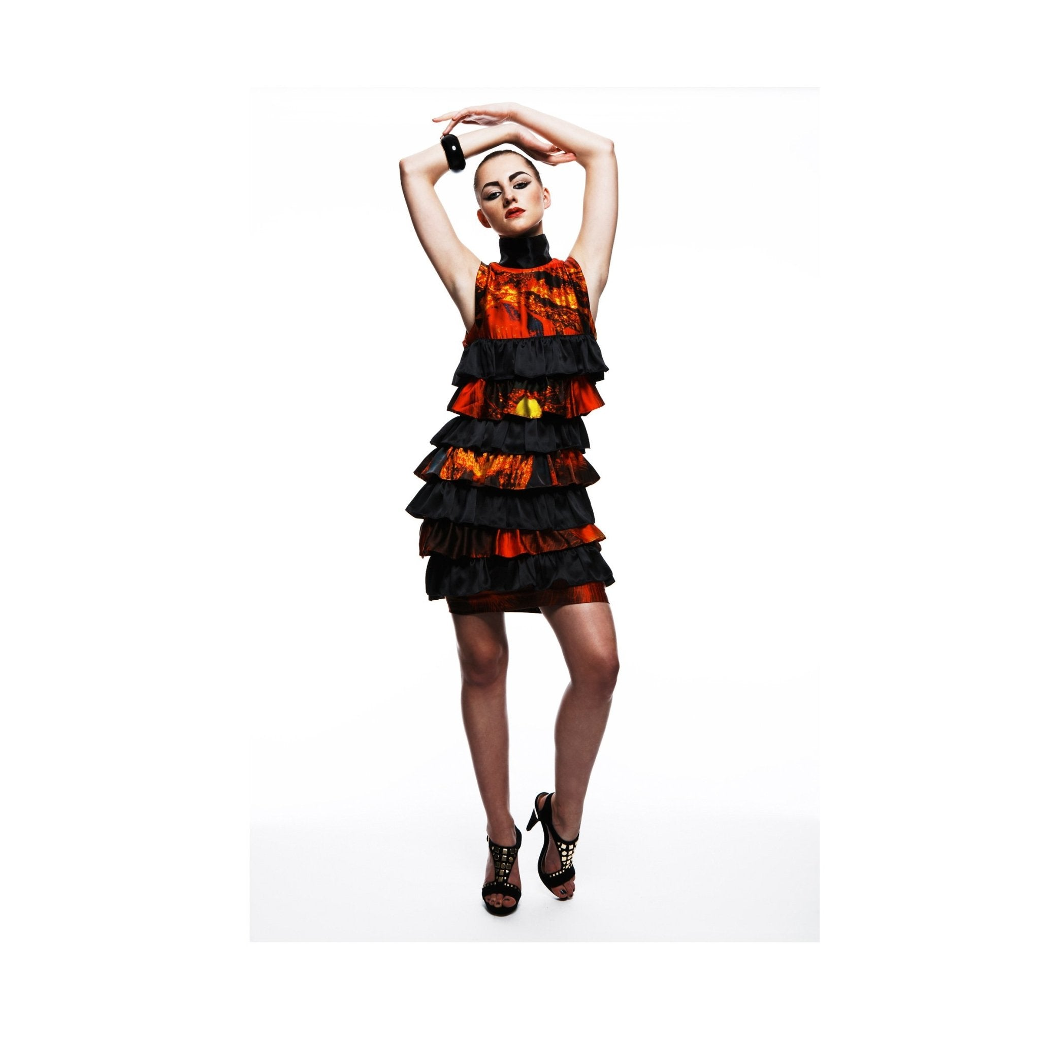 LAVA FRILL DRESS - The Clothing LoungeTramp in Disguise