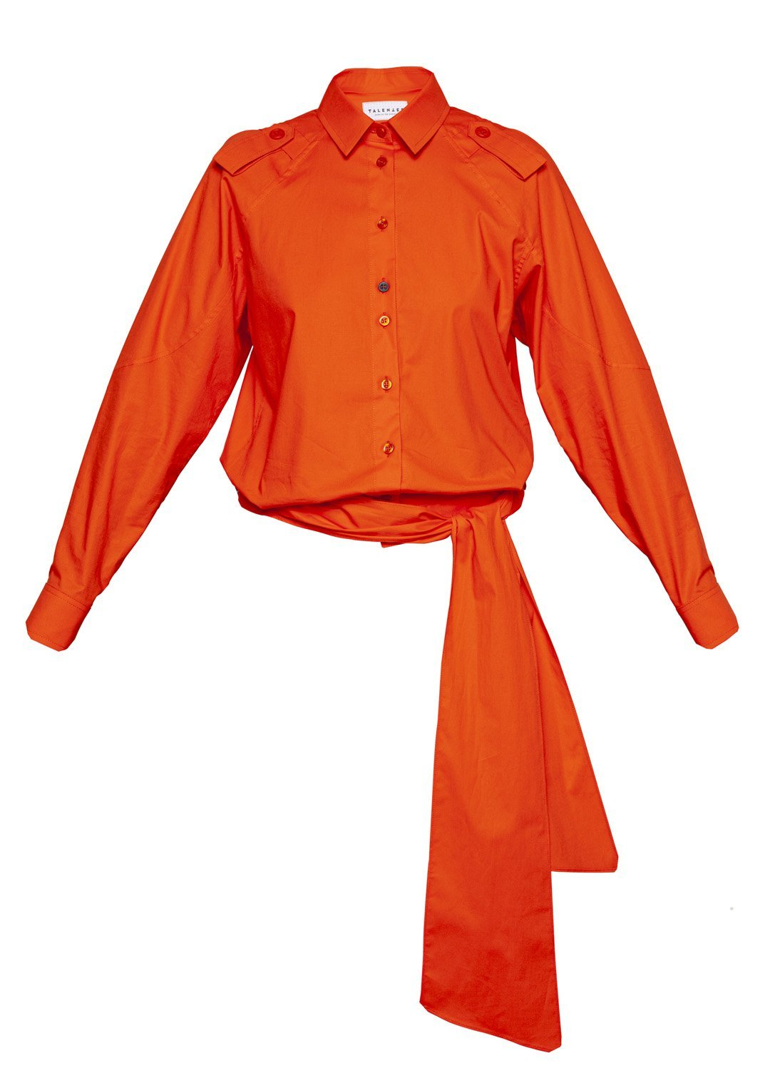 Low Waist Blouse Orange - The Clothing LoungeTalented
