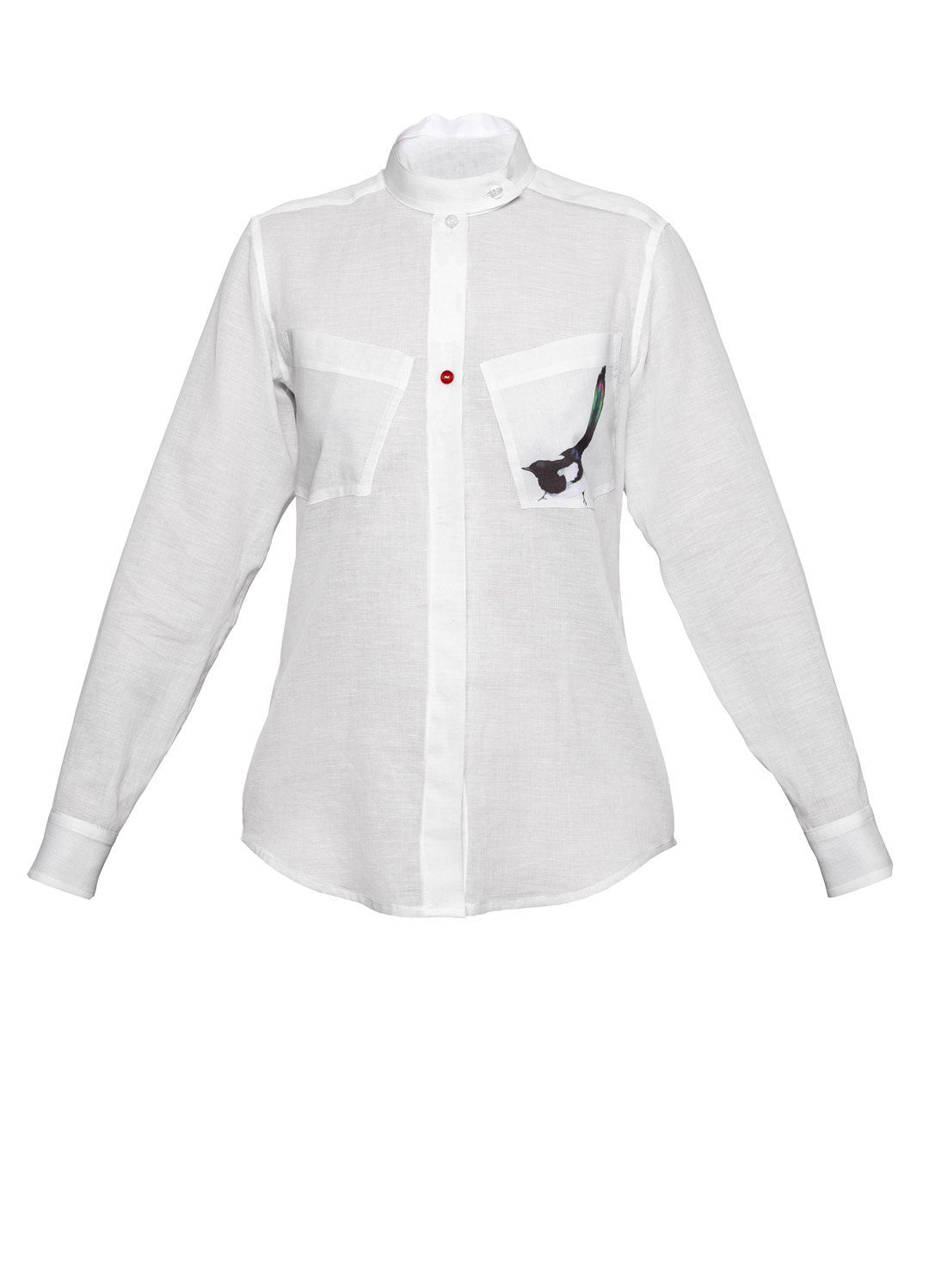 Magpie Shirt White - The Clothing LoungeTalented