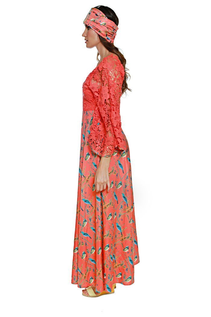 Monica maxi dress - The Clothing LoungeMah Mad About Hue