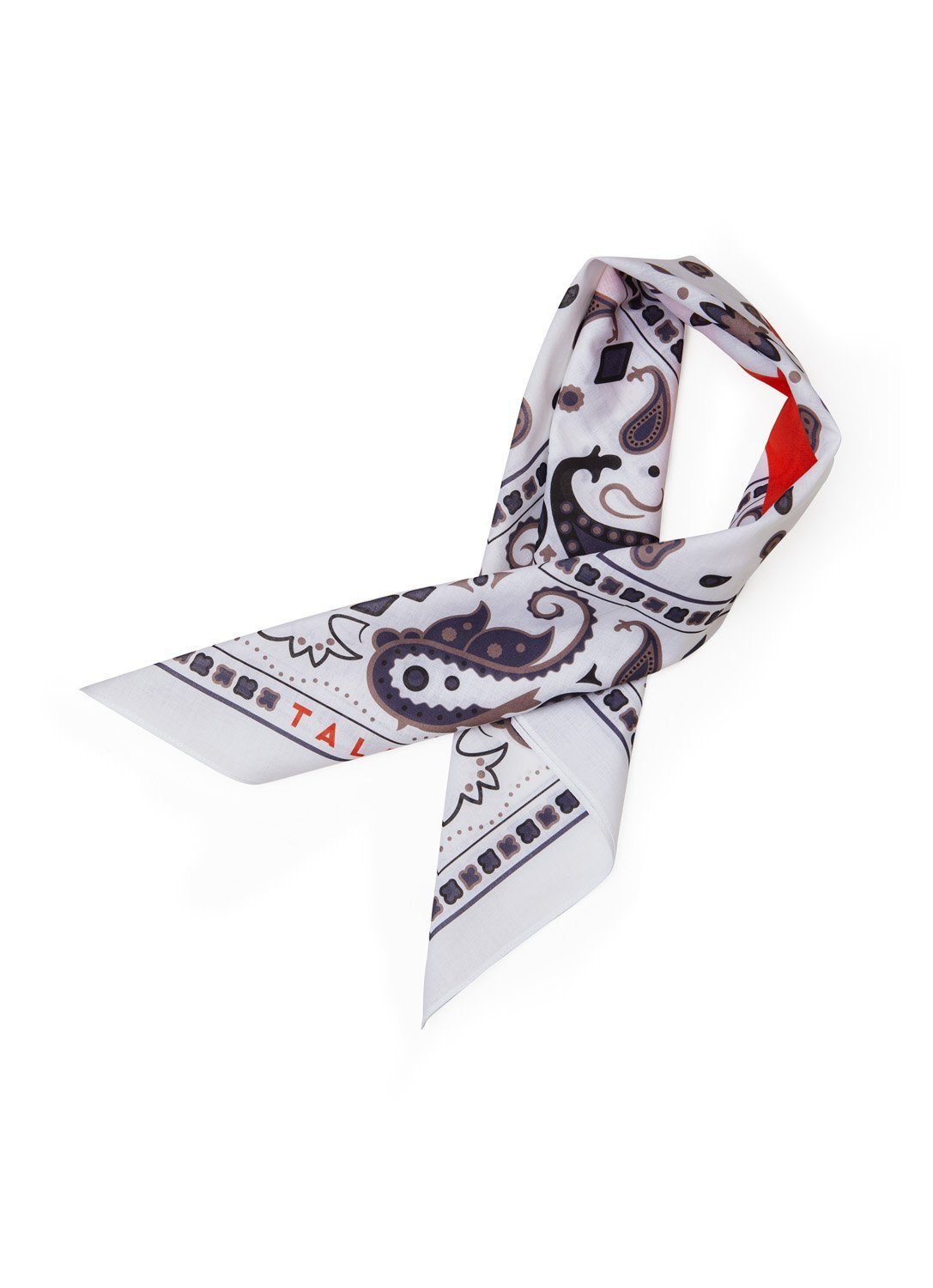 Paisley Black and Red Bandana - The Clothing LoungeTalented